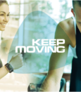 Keep Moving Header