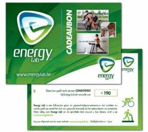 Energy Lab Cadeaubon Conditietest Lopen